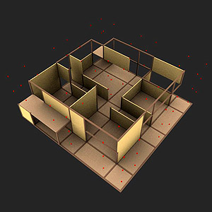 Designcoding n grid for Architecture 9 square grid