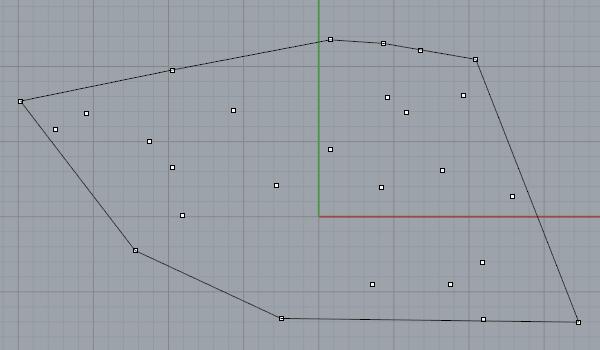 designcoding | Convex Hull with Rhino Python